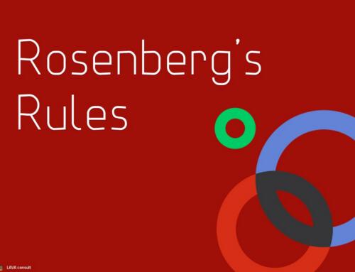 Rosenberg's Rules.