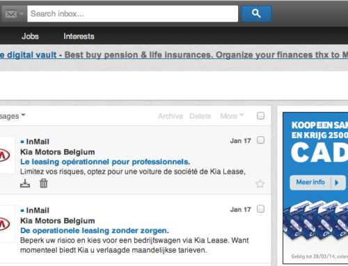 Linkedin Sponsored Inmails. How not to fail.